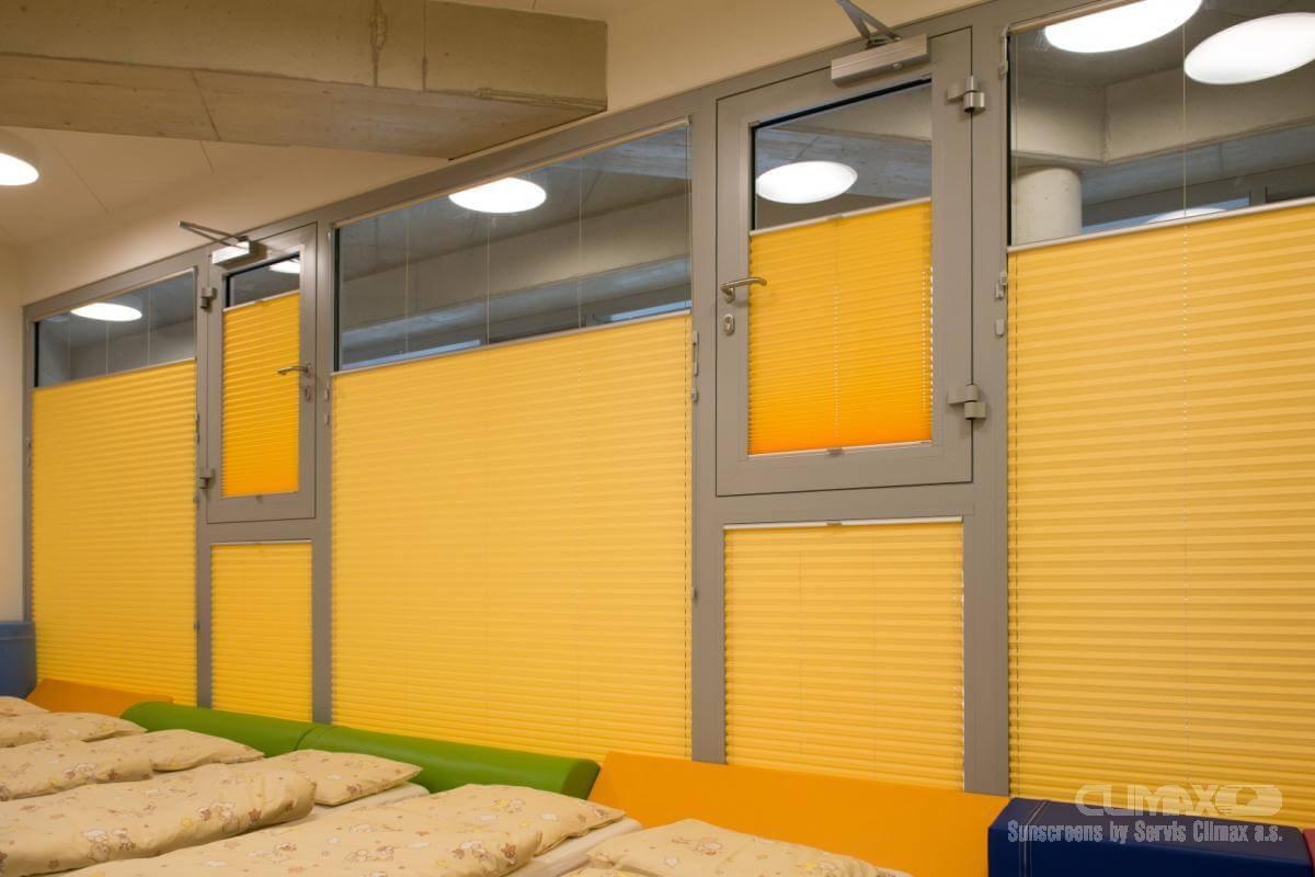 Sichtschutz und Sonnenschutz: Plissee Projekt Frankenthal