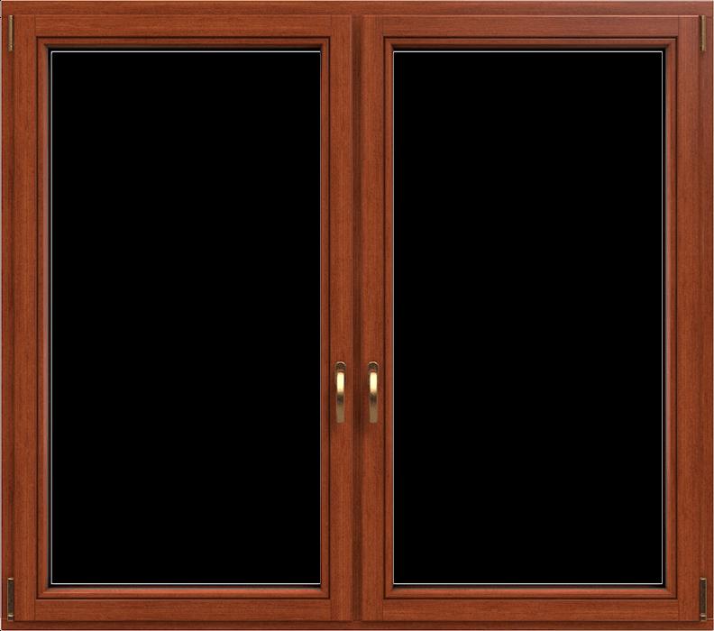 Fenster mit Holzrahmen von DRUTEX