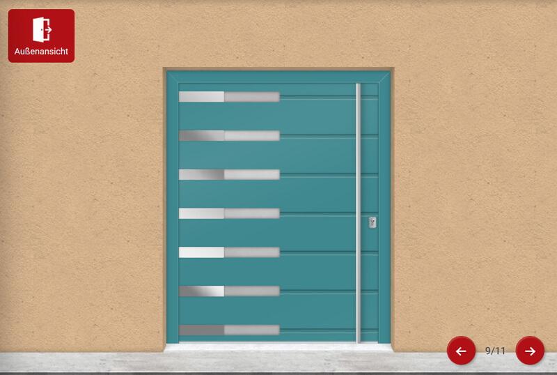 Online Fenster Türen Konfigurator