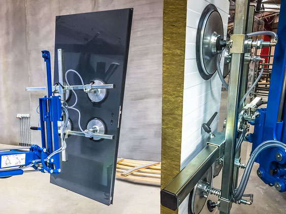 Baustellenlieferung Fenster und Türen Mannheim